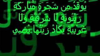 Surah An Nur Ayat 35 Recited by She...