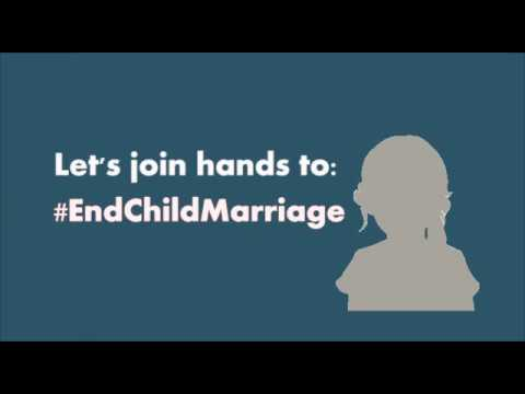 Let's join hands to end #ChildMarriage