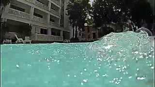 GoPro underwater bubbles / подводная съемка / пузыри