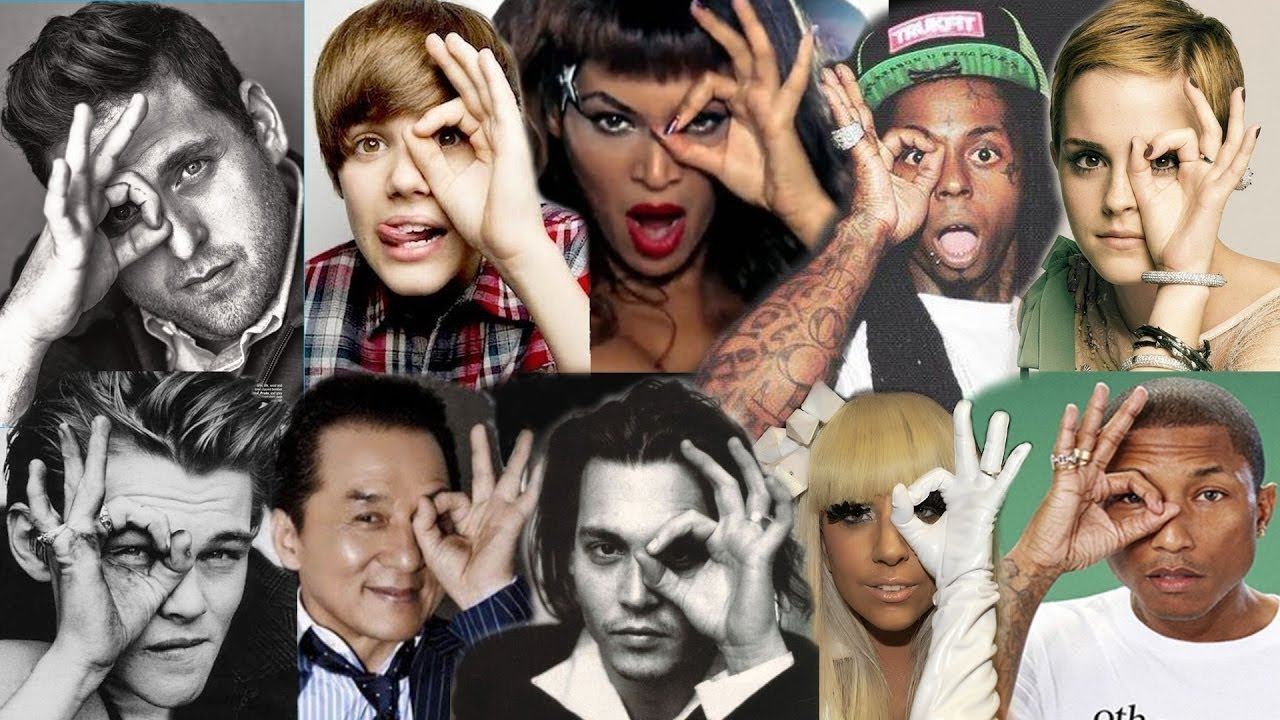 Satanic Celebrities And More Exposed 666 Hand Sign The Sign Of