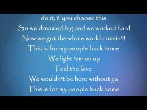 People Back Home - Florida Georgia Line Lyrics