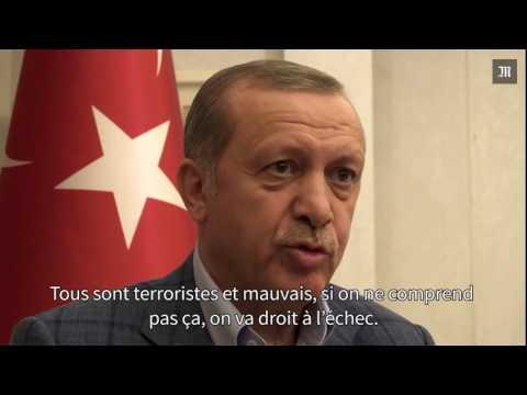 Vidéo : M. Erdogan donne une interview au « Monde » trois semaines après le putsch raté