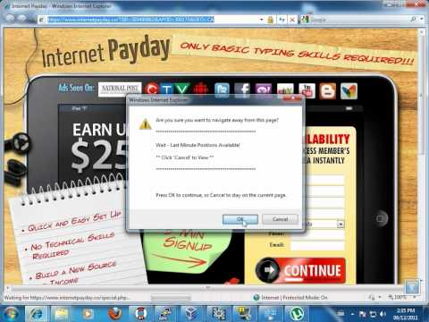 """Google """"work from home"""" scam"""