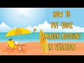How to put amazon account in vacation mode fba sourcing using Oaxray for online arbitrage  for fba