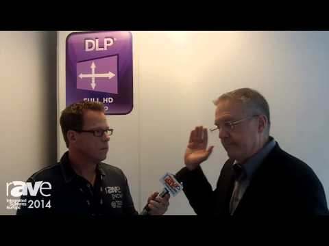 ISE 2014: Gary Kayye Interviews Texas Instrument's Dave Duncan About DLP and Projection Technology