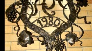 Красивые кованые изделия для домашнего интерьера , ковка художественная(, 2016-10-04T09:14:46.000Z)