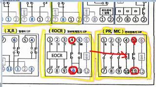 ELP 001 전기기능사 자격증 같이 따요(실기시험1)~!  (전기기능사 실기 시퀀스회로, 계전기 , 릴레이 구조)