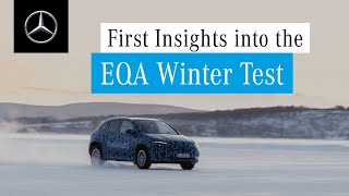 Mercedes-Benz EQA: Winter Testing
