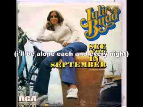 See You In September  Julie Budd Lyrics Letra