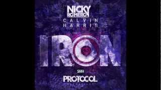 Nicky Romero ft Calvin Harris - Iron (Original Mix)