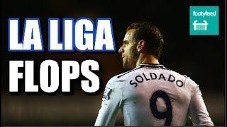 La Liga Stars Who Flopped in The Premier League