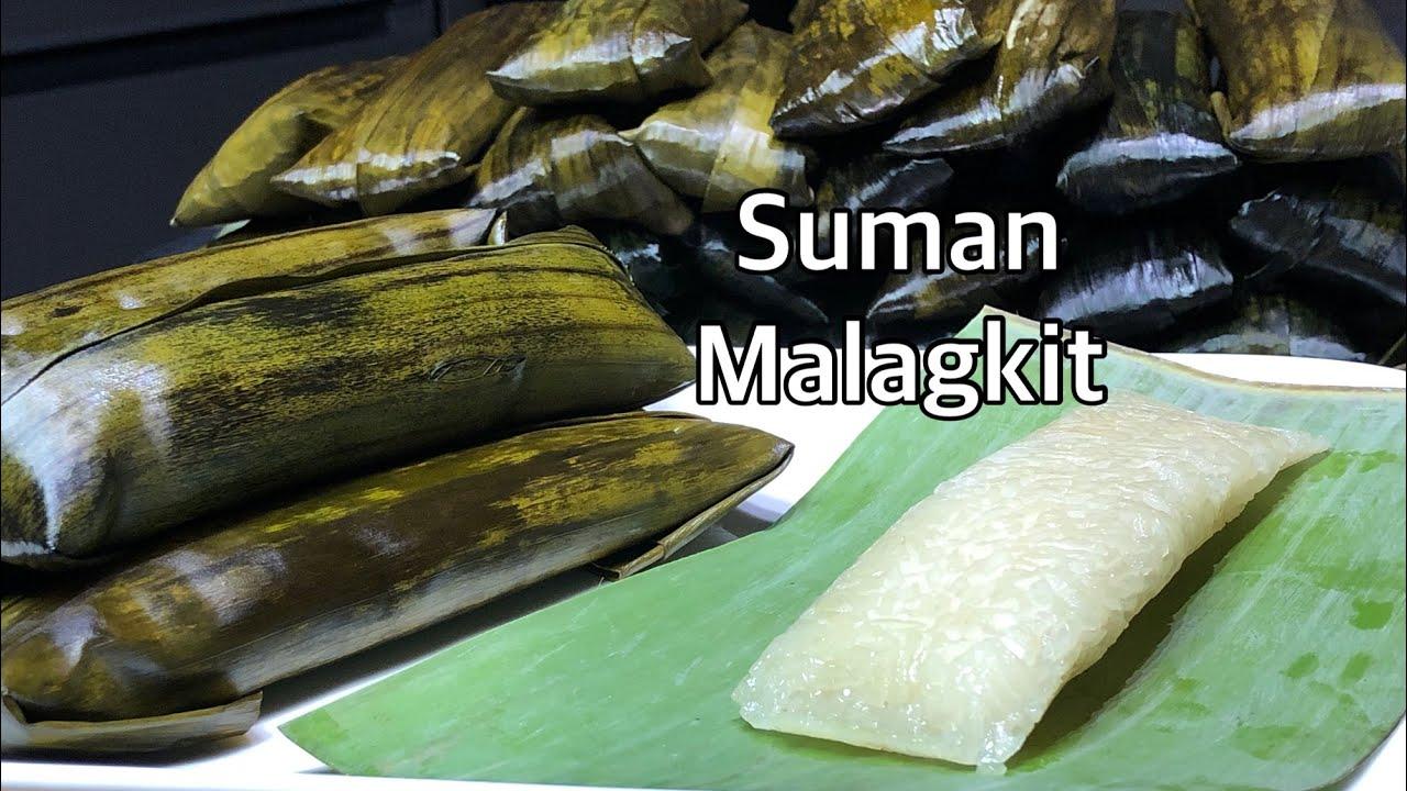 Download HOW TO COOK PERFECT SUMAN MALAGKIT | SUMAN MALAGKIT RECIPE | PINOY KAKANIN | BUDBUD PILIT