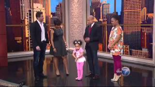 3 year old blows away audience with poem for Black History Month