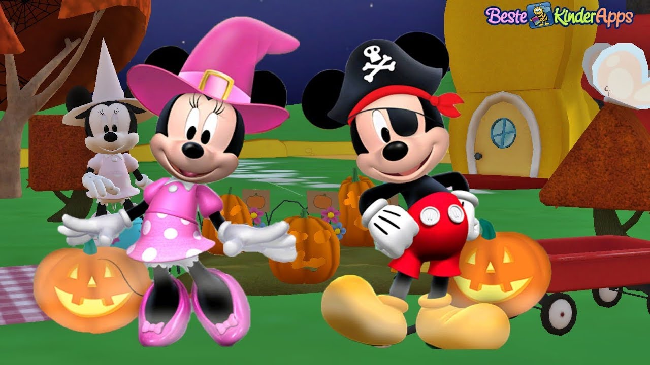 halloween im micky maus wunderhaus app f r kinder deutsch youtube. Black Bedroom Furniture Sets. Home Design Ideas