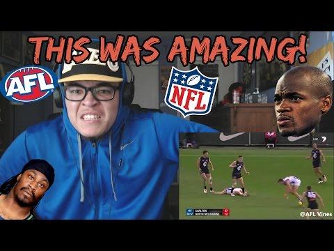AFL vs NFL Vines Compilation REACTION!