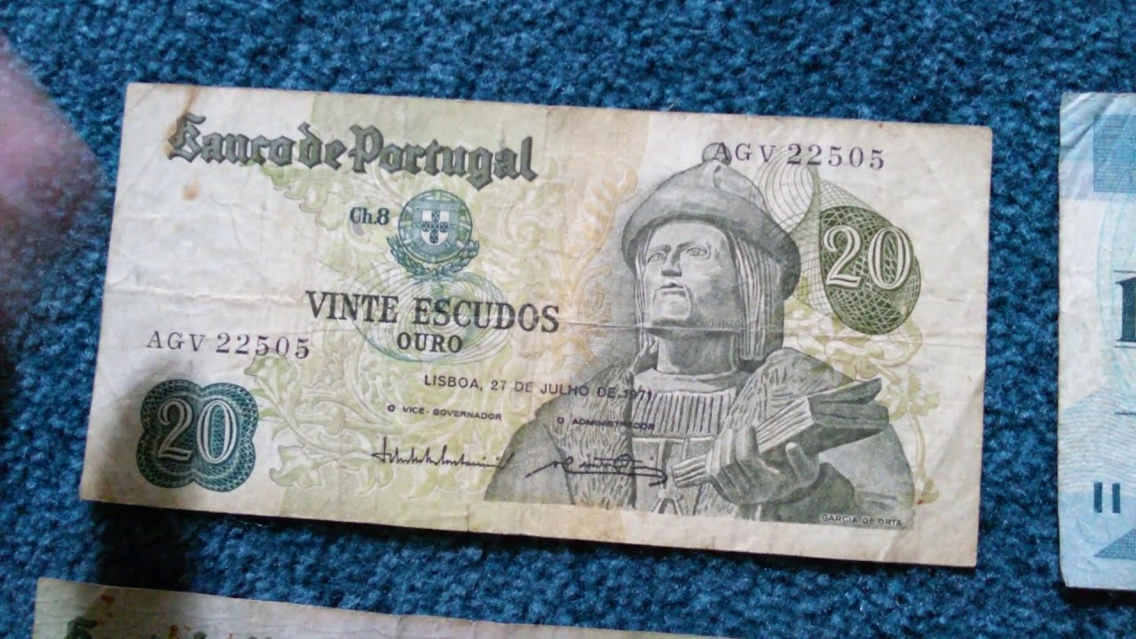 Pre Euro Currencies Part 6 Portuguese Escudos
