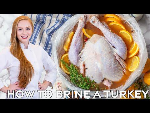 Apple Cider Turkey Brine - How to Brine a Turkey