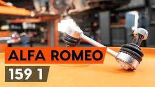 Τοποθέτησης Ράβδος ζεύξης πίσω αριστερά ALFA ROMEO 159 Sportwagon (939): δωρεάν βίντεο