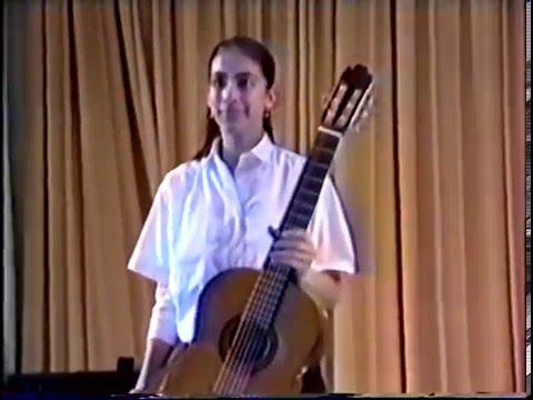 Gaëlle Solal's first recital (Danza 5. E. Granados)