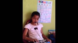 Indonesia raya pianika