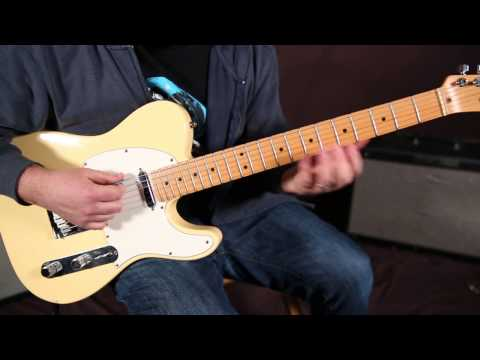 Rolling Stones - Bitch - Guitar Lesson - How to Play Blues Riff Rock - On Guitar, Telecaster