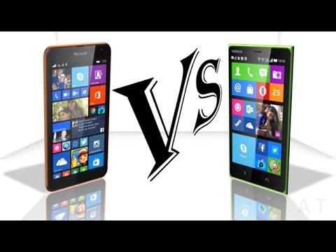 Microsoft Lumia 535 Vs Nokia X2