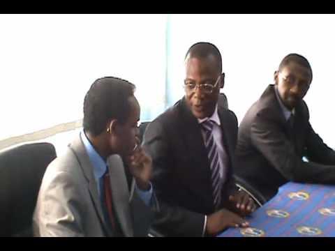 Synergies africaines accueille le Président fondateur de USDFA