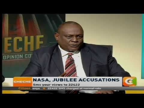 Cheche : NASA,Jubilee accusations [Part 1]