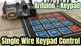 One single analog pin  4*4 Keypad Control by Arduino with Lcd display