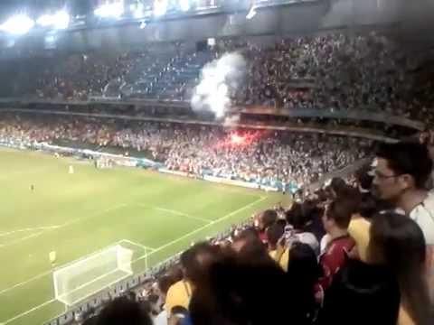 Gol da classificação da Argélia