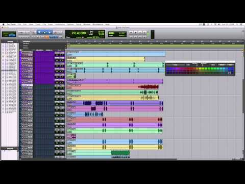 Organizzare una sessione di mix pt.1 – Pro Tools