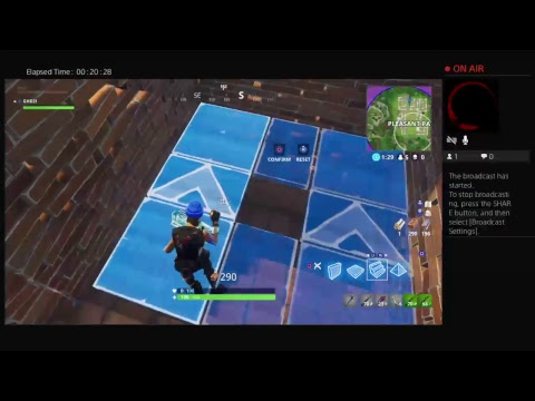 GHD21's Live PS4 Broadcast fortnite G Cook Franchize gub