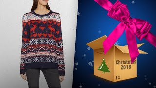 Top 10 Women Christmas Jumpers Gift Ideas / Countdown To Christmas 2018! | Christmas Gift Guide