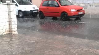Pedregada,Granizada, Hail storm Igualada 2014 2