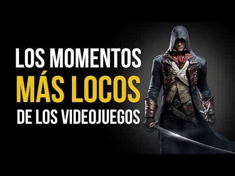 Los MOMENTOS MÁS LOCOS De Los VIDEOJUEGOS #1