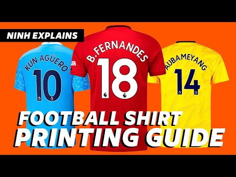⚽ Football Shirt Printing Guide - How to Customize & Print Soccer Jerseys