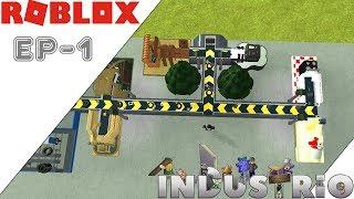 Roblox: Industrio Ep 1 [ Machine Madness!]