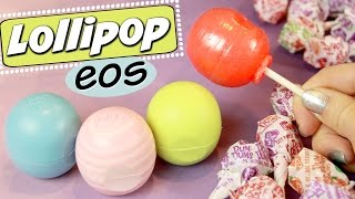 DIY EOS LOLLIPOP // How to Make Candy EOS | SoCraftastic Videos! by SoCraftastic
