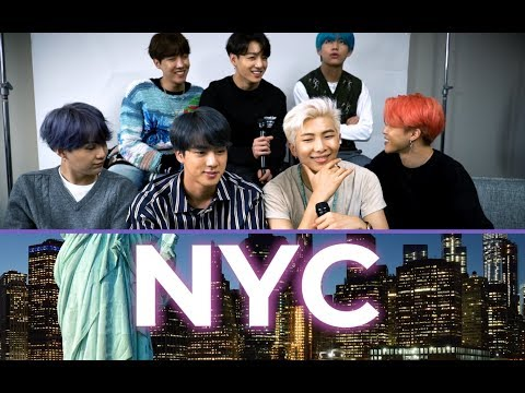 Before their Saturday Night  performance BTS told us their favorite things about NYC