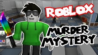 HIDING IN THE BATHROOM?! - Murder Mystery 2 (Roblox PC)