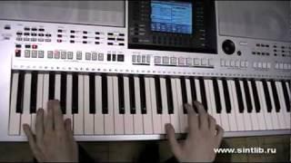 Yiruma - River flows in you игра на синтезаторе
