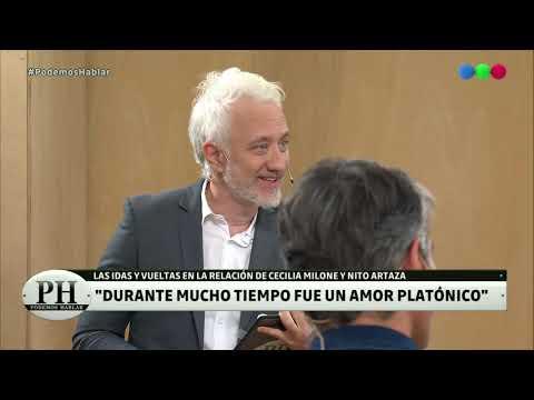 El desplante público de Cecilia Milone a Nito Artaza - Podemos Hablar 2019