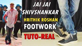 Jai Jai Shivshankar - Hrithik Roshan Footwork Tutorial | War | Tiger Shroff | Nishant Nair |