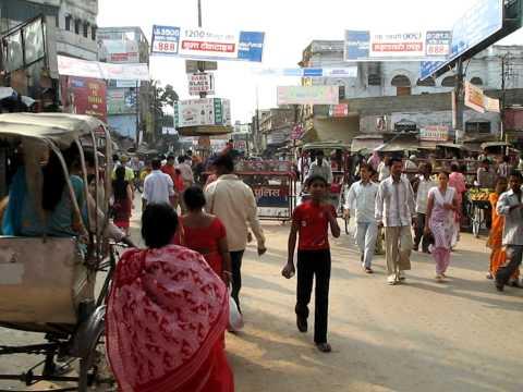 India Varanasi Street Life