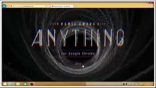 Gambar cover Anything for Google Chrome Tutorial Movie(for Windows)