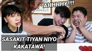 FAKE TONGUE PRANK KAY MOMMY! SOBRANG LAPTRIP NITO!
