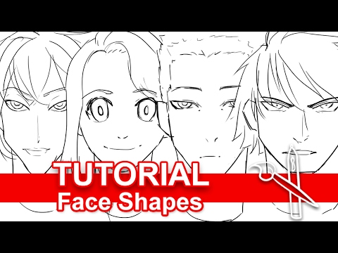Tutorial: Drawing Unique Face Shapes
