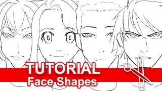 Tutorial: Drawing Unique Face Shapes