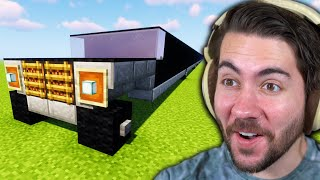 I gave 100 Minecraft players one room each on a limo to build anything