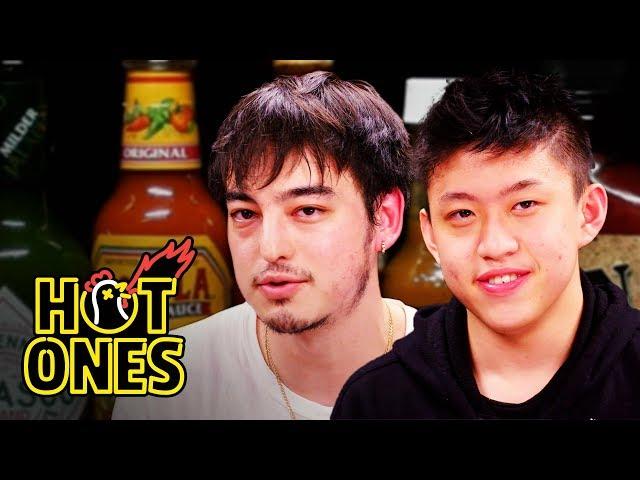 Joji & Rich Brian Make Spicy Fried Chicken on 'Feast Mansion'
